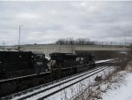 NS 7203 SD80MAC Leading